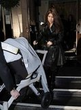 Kourtney Kardashian and Penelope: Orbit Baby G2