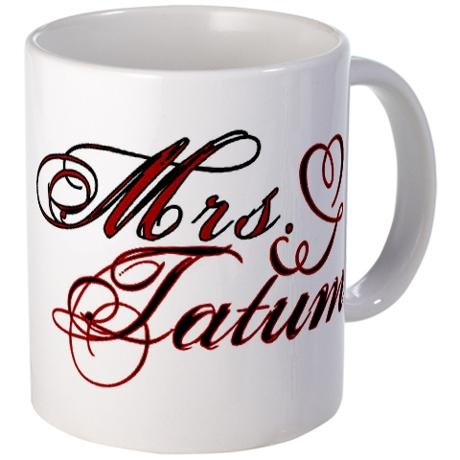 Mrs. Channing Tatum Mug ($15)