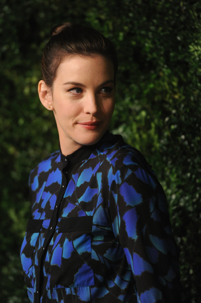 Liv Tyler stepped out in NYC for the CFDA/Vogue Fashion Fund Awards.