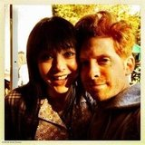 Alyson Hannigan and Seth Green, who starred on Buffy, the Vampire Slayer, reunited on the set of How I Met Your Mother. Source: Seth Green on WhoSay