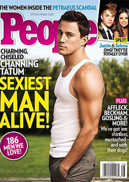 Channing Named Sexiest Man Alive