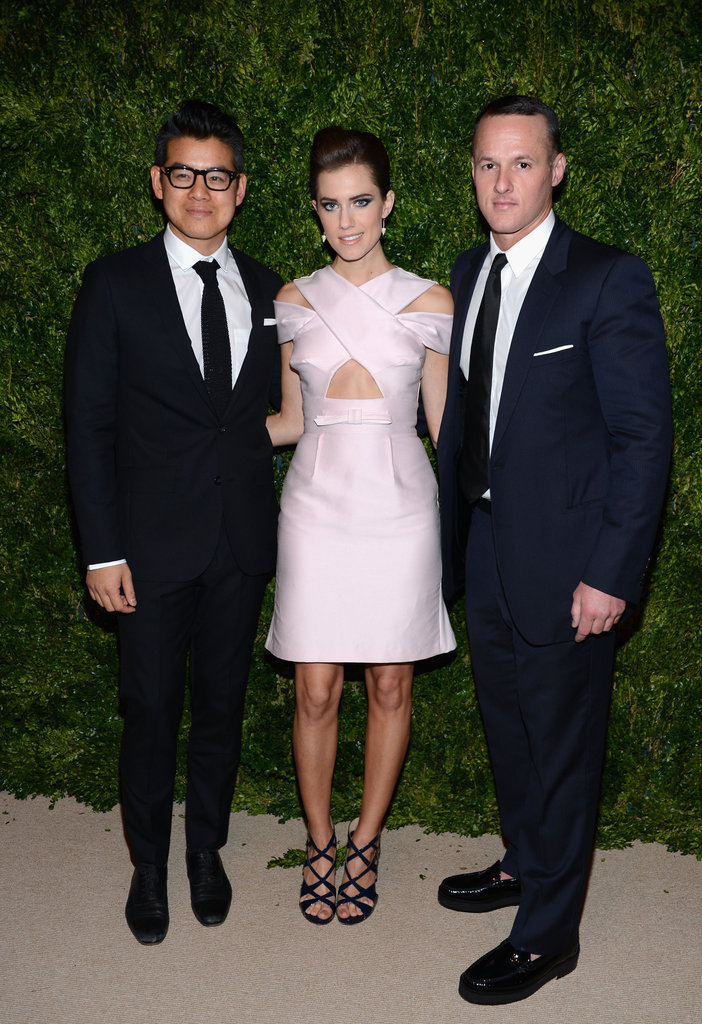 Allison Wiliams and Peter Som attended the CFDA/Vogue Fashion Fund Awards in NYC.