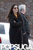 Sandra Bullock had a laugh in New Orleans.
