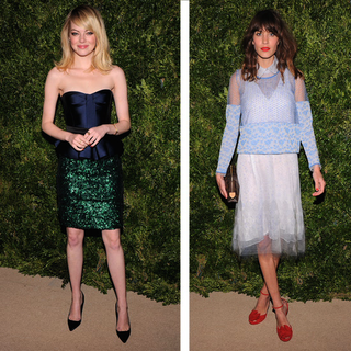 Video: Emma Stone, Alexa Chung, Miranda Kerr At CFDA Awards