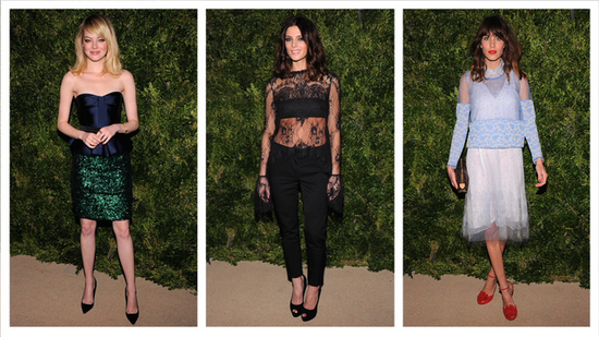 Alexa, Emma, Miranda, and More Wow at the CFDA Vogue Fashion Fund Awards