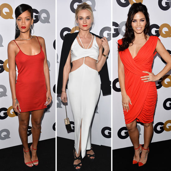 Rihanna Diane Kruger Jaime King At GQ Man Of The Year Awards