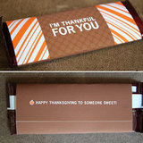 Thanksgiving Candy Bar Wraps