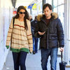 Katie Holmes Takes the Subway With Male Friend in NYC