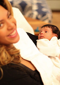 Blue Ivy Carter Is Born