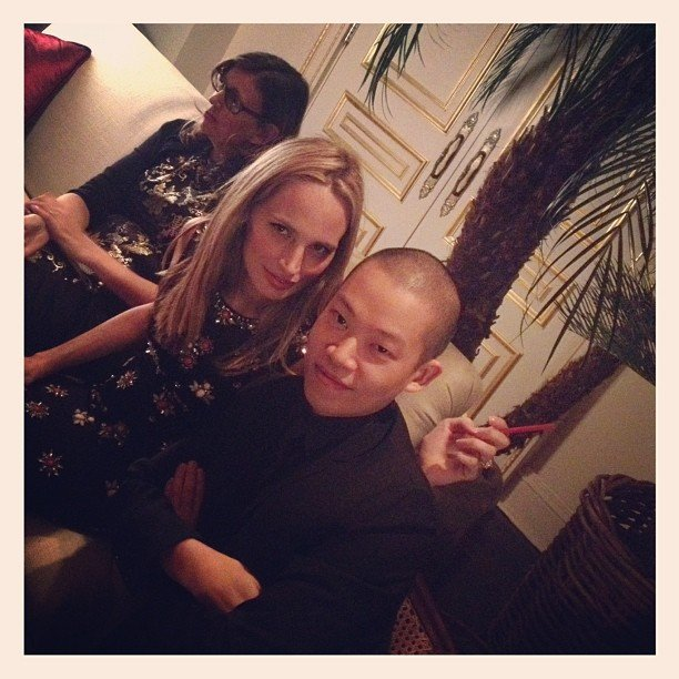 Jason Wu attended an event with Lauren Santo Domingo. Source: Instagram user jasonwustudio