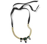 The beauty in most jewelry is that it's ultrapretty, ultrafeminine, and exempt from sizing problems. With this Club Monaco Norelle topaz necklace ($90) you can adjust the length according to outfit, and with its statement jewels front and center, the gift is sure to evoke a sense of vintage glamour.