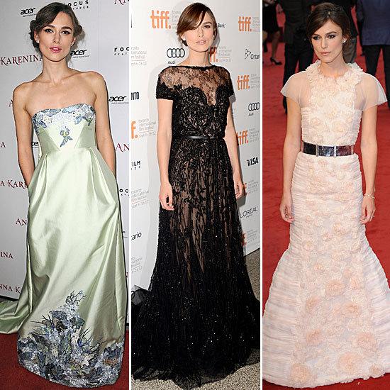 Keira Knightley Red Carpet Style: Chanel, Erdem, Valentino