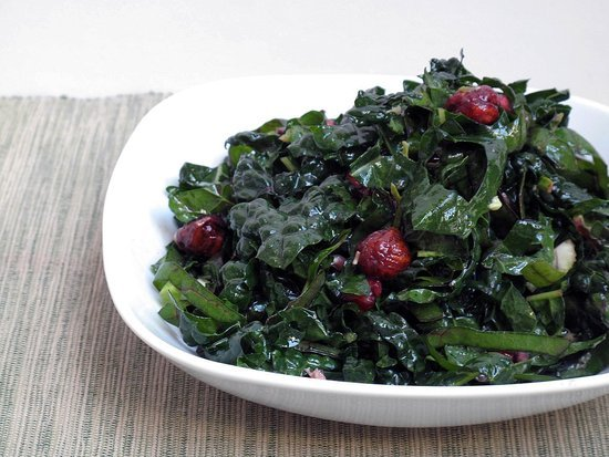Salads: Kale and Chard Mix