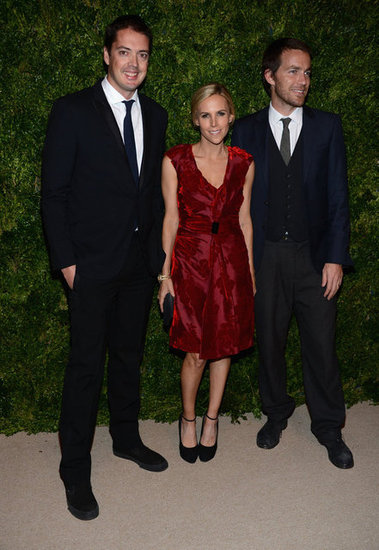 Tory Burch, Marcus Wainwright, and David Neville