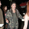 Jessica Szohr Wearing Camouflage Jacket