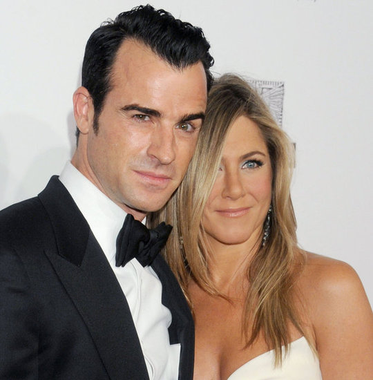 Jennifer Aniston and Justin Theroux stepped out in LA.