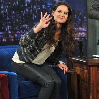 Katie Homes on Jimmy Fallon | Pictures