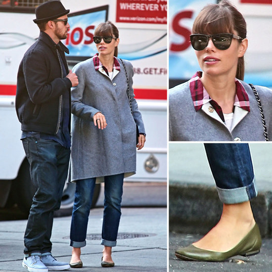Shop Jessica Biel's sweet Fall style.