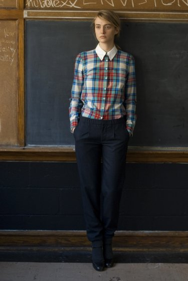 Thom Dolan St. Pat's Plaid Oxford Shirt ($235)