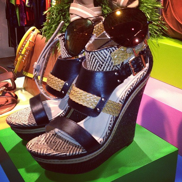 We might be getting ready for the holidays, but these Target wedges have us looking forward to Spring.