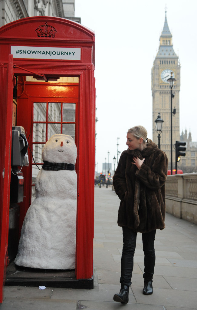 Frosty Phone Call