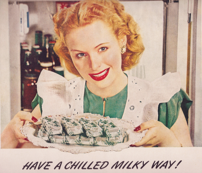 Have a chilled Milky Way that's definitely not laced with arsenic.
