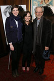 Anne Hathaway, Sally Field and Steven Spielberg attended a special screening of Lincoln, Steven's new film, in New York on November 14.