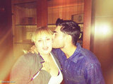 Zac Efron planted a kiss on Rebel Wilson. Source: Zac Efron on WhoSay