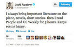 We call it pop-culture literature, Judd!