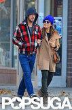 Ryan Gosling and Eva Mendes walked around Manhattan.