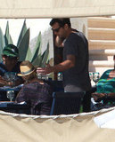 Diane Kruger and Joshua Jackson had lunch in Cabo.