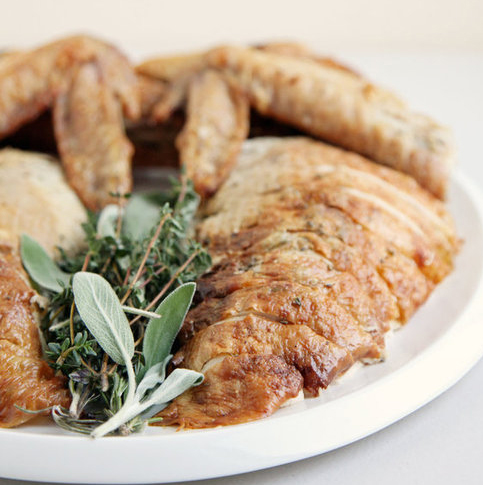 Easy Herb-Roasted Thanksgiving Turkey