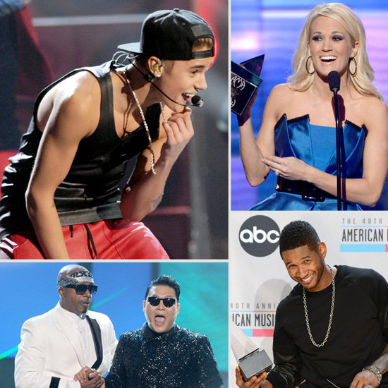See All the Pictures of the 2012 American Music Awards