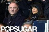 Salma Hayek and Francois-Henri Pinault sat side by side in France.