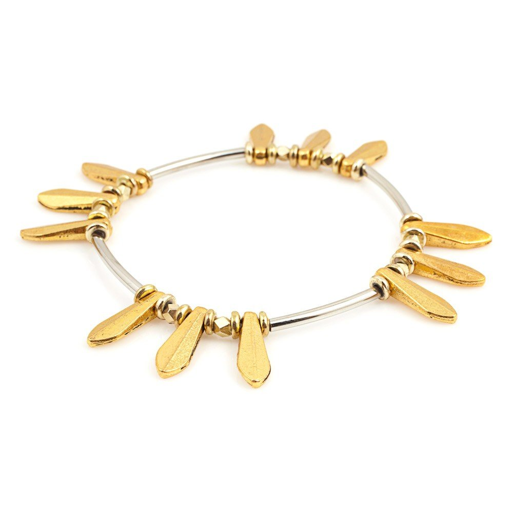 Vanessa Mooney's Chelsea bracelet ($45) emotes a cool nomadic vibe, perfect for layering with other stacked bracelets.