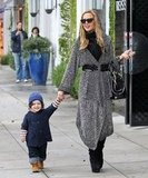 The ever-stylish Rachel Zoe and Skyler Berman were all smiles as they ran errands around LA.