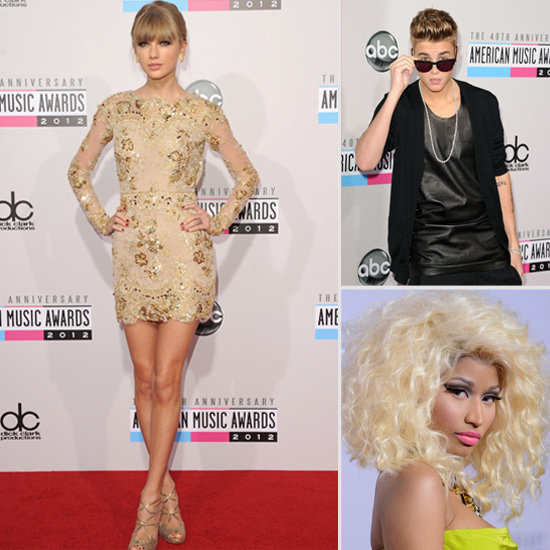 Pink, Taylor Swift, Carly Rae and More Hit The 2012 American Music Awards Red Carpet