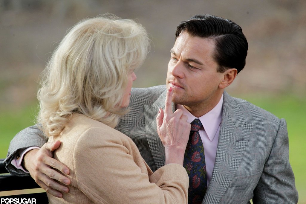 Leonardo DiCaprio Locks Lips With a Fabulous Costar