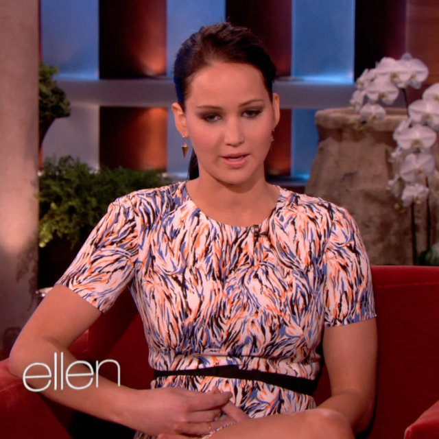 Jennifer Lawrence Impersonates Her Mum on The Ellen Show