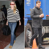 Diane Kruger Jets to France While Joshua Jackson Returns to Work