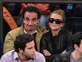 Mary-Kate Olsen and Olivier Sarkozy spent some time together in NYC.