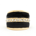 This Charlotte Russe Rhinestone Band Enamel Ring ($6) looks a lot more luxe than its under $10 price tag.