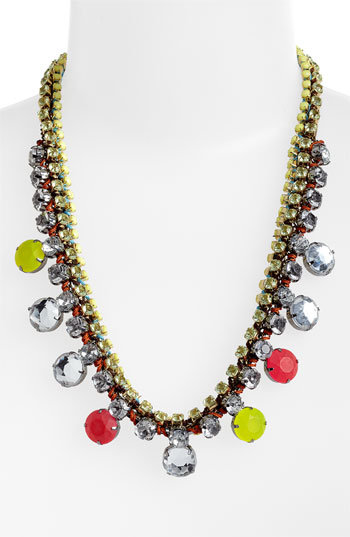 You don't need much else with this Cara Accessories Statement Necklace ($48) — it'll light up your look with sparkle and color.