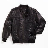 Black Rivet Big Boy Jacket