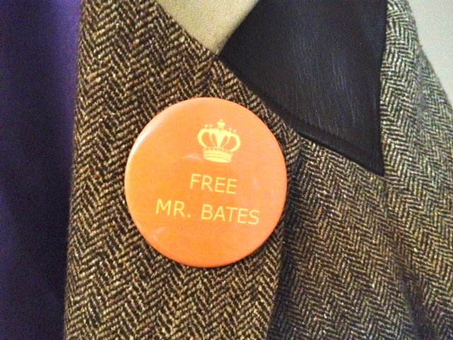 Free Mr. Bates Pin
