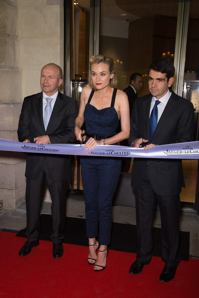 Diane Kruger Goes Chic to Open a French Boutique