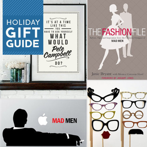 From vintage-inspired makeup hues to cocktail recipes and posters, Buzz found Mad Men gifts for any Don Draper or Joan Harris in your life this holiday season.