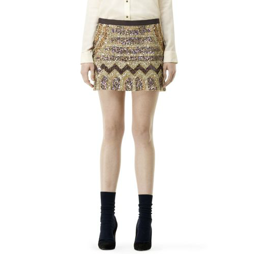 Nothing says festive like this beaded Club Monaco Heidi Skirt ($229).