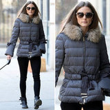 Olivia Palermo (obviously) makes us want a chic puffer, too.