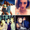 Celebrity Instagram &amp; Twitter Pics: Miranda Kerr, Rihanna